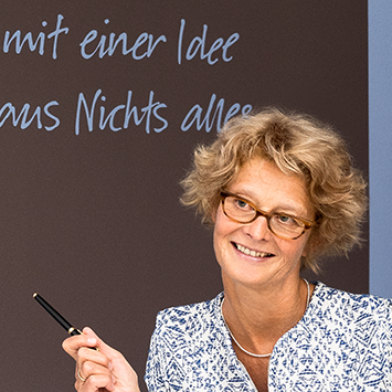 Texterin Karla Nowak Werbepuristin